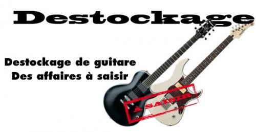 offre spéciale sur une sélection de guitare électrique et guitare électro acoustique
