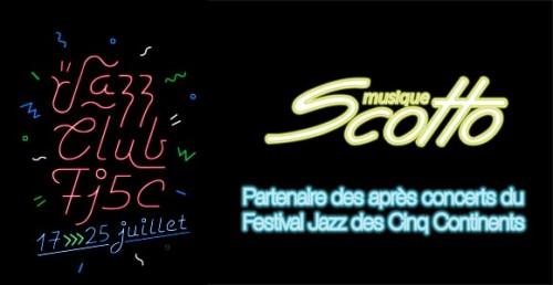Scotto Musique Partenaire du festival jazz des cinq continents